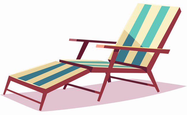 Download Deck Chair Free Clipart HD HQ PNG Image.