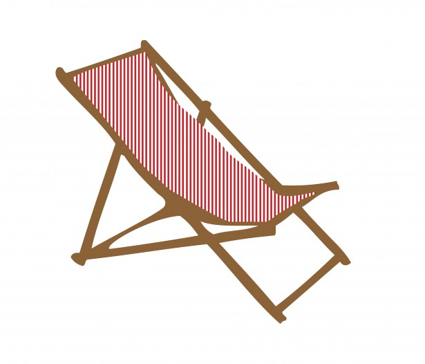 Deck Chair Clipart Free Stock Photo.