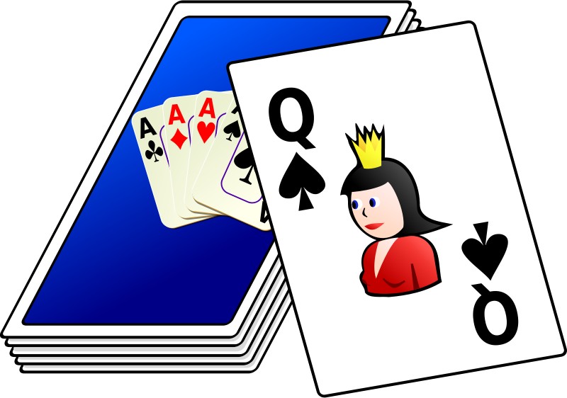 Free Clipart: Deck of cards.