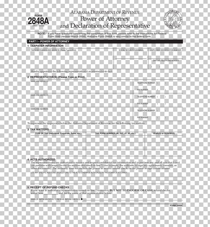 Document Power Of Attorney Form Revocation PDF PNG, Clipart.