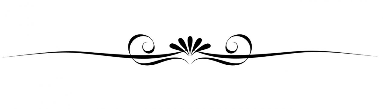 Decorative Line Divider Clipart.