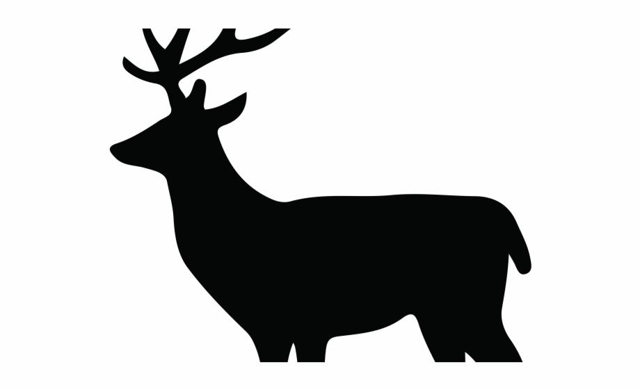 Dear Clipart Deer Silhouette.