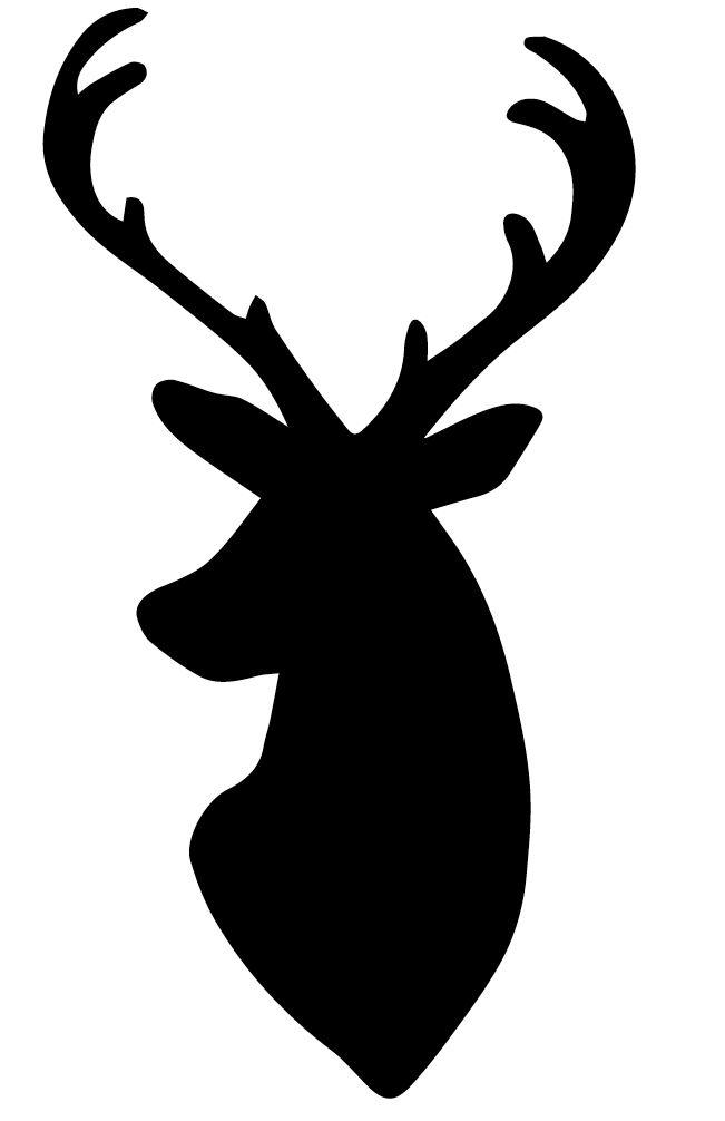 17 Best ideas about Deer Head Silhouette on Pinterest.