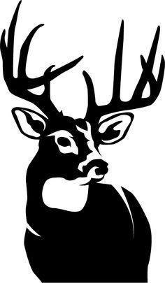 Clipart Deer Head In Wall Clipground