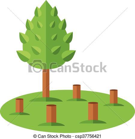 Deforestation Clip Art Vector Graphics. 1,232 Deforestation EPS.