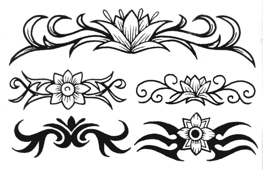 Tattoo clip art designs free clipart images 6.