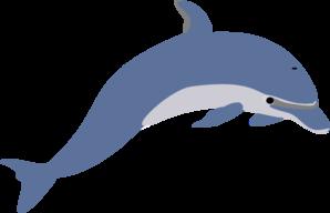 Delfin Clip Art at Clker.com.
