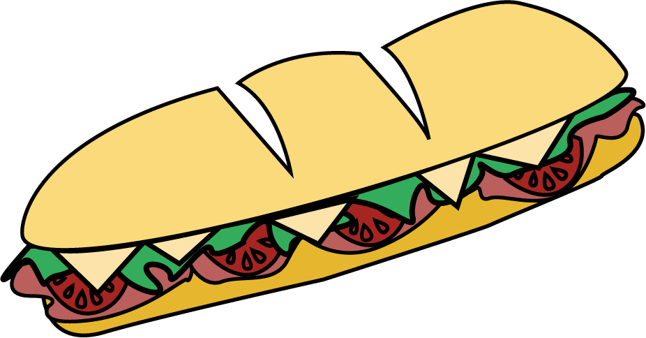 Collection of 14 free Sandwich clipart hoagie bill clipart dollar.