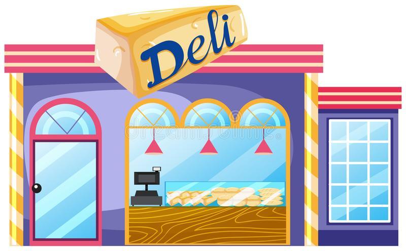Deli Illustration Stock Illustrations.