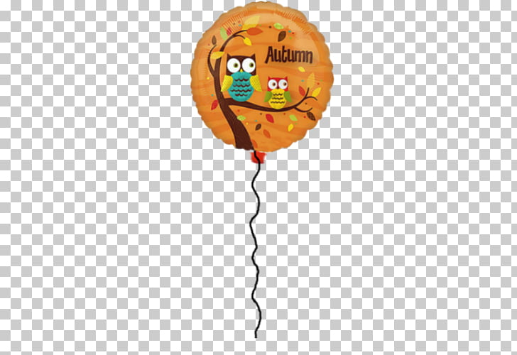 Balloon The Cupcake Delivers Autumn, balloon PNG clipart.