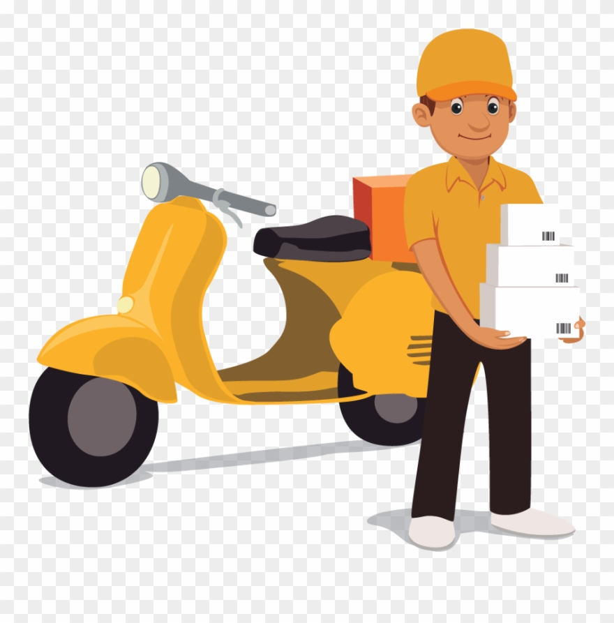 Delivery Clipart Delivery Man.