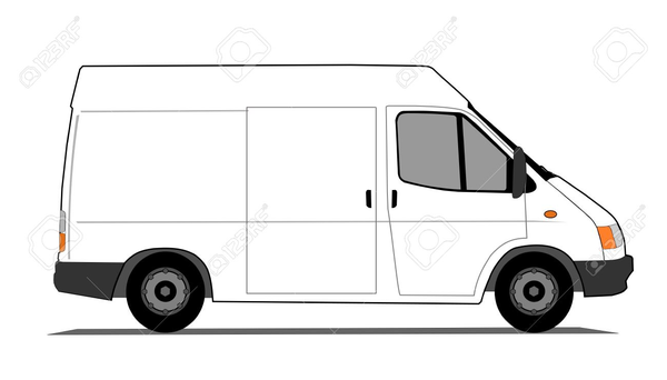 Free Clipart Of Delivery Vans.