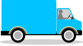 Delivery van clipart 1 » Clipart Station.
