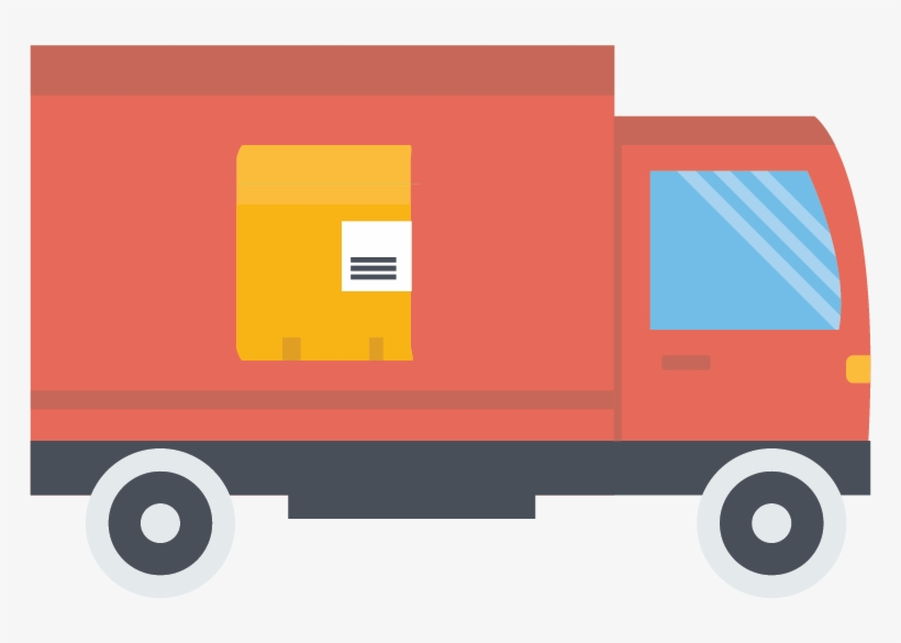 Delivery Clipart Courier Van.