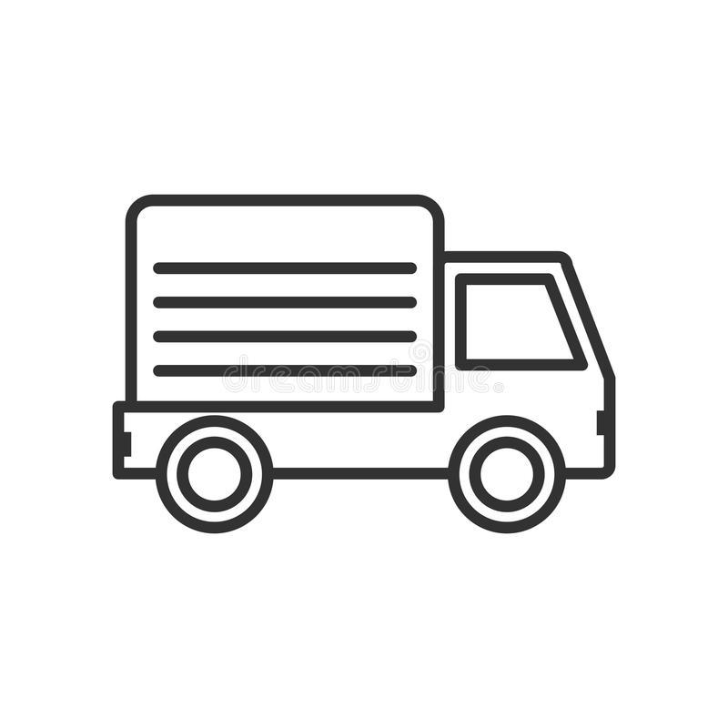 Delivery Van Stock Illustrations.