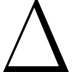 Showing post & media for The delta symbol.