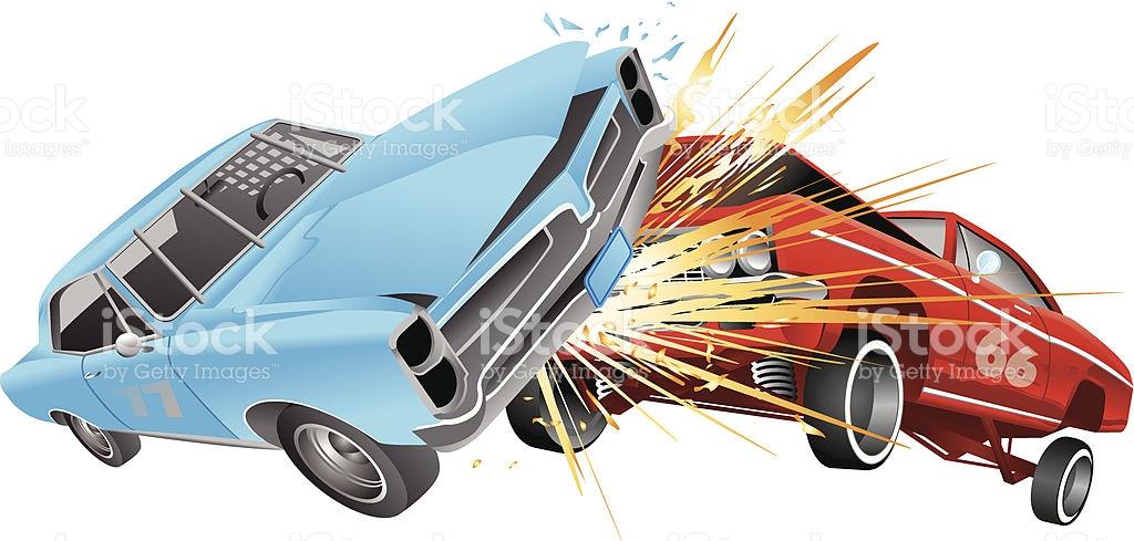 Demolition Derby Clip Art, Vector Images & Illustrations.