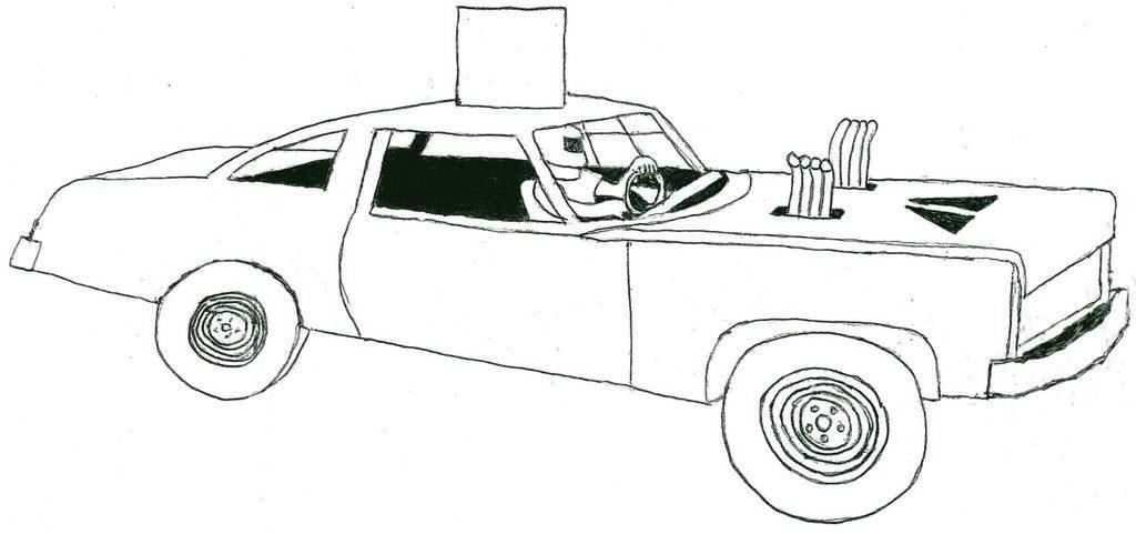 Demolition Derby Car Clipart Clipartsgram Coloring Pages.