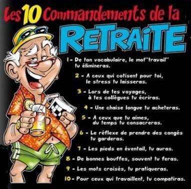 Ah la retraite!.