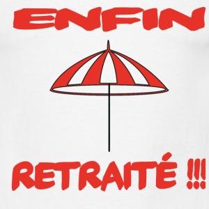 Tee shirt Retraite Pour la Départ.