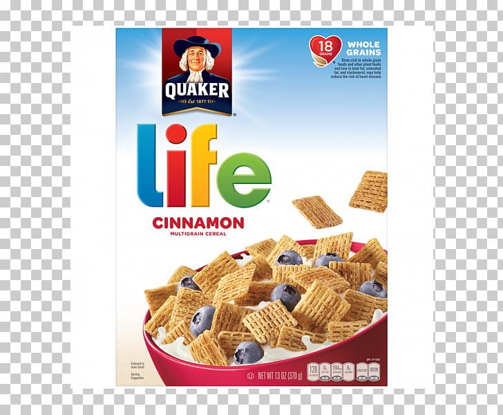 Desayuno cereal quaker life cereal canela quaker avena.