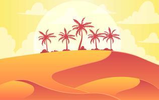 Desert Free Vector Art.