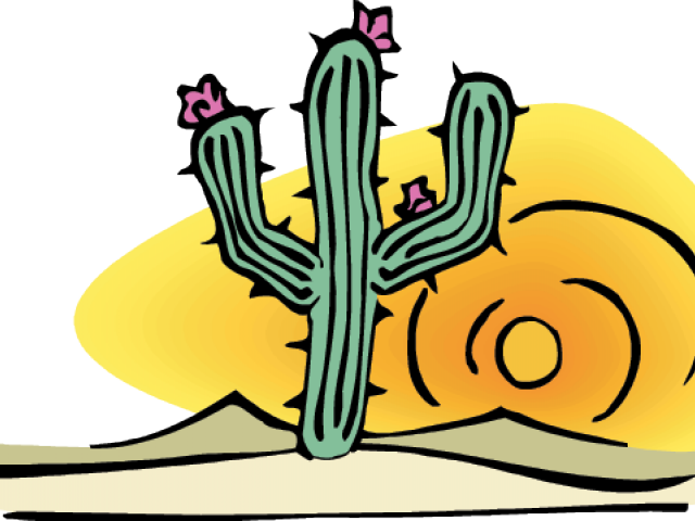 Desert Clipart Cactus Desert.