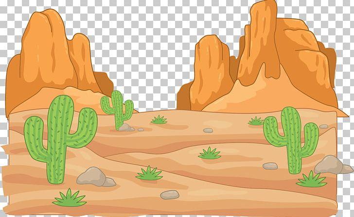 Desert Cartoon Drawing Cactaceae PNG, Clipart, Anim, Cactus.