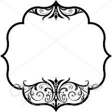 Image result for frame design black and white.