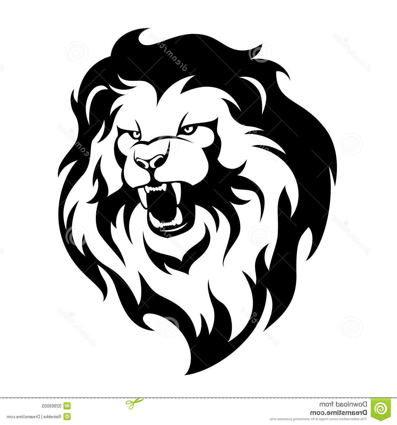 Lion Logo Design Clipart.