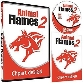Clipart deSIGN USA Animal Flames 2 Clipart.