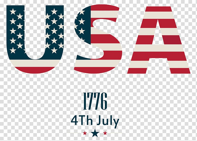 U.S.A. , Flag of the United States , USA transparent.