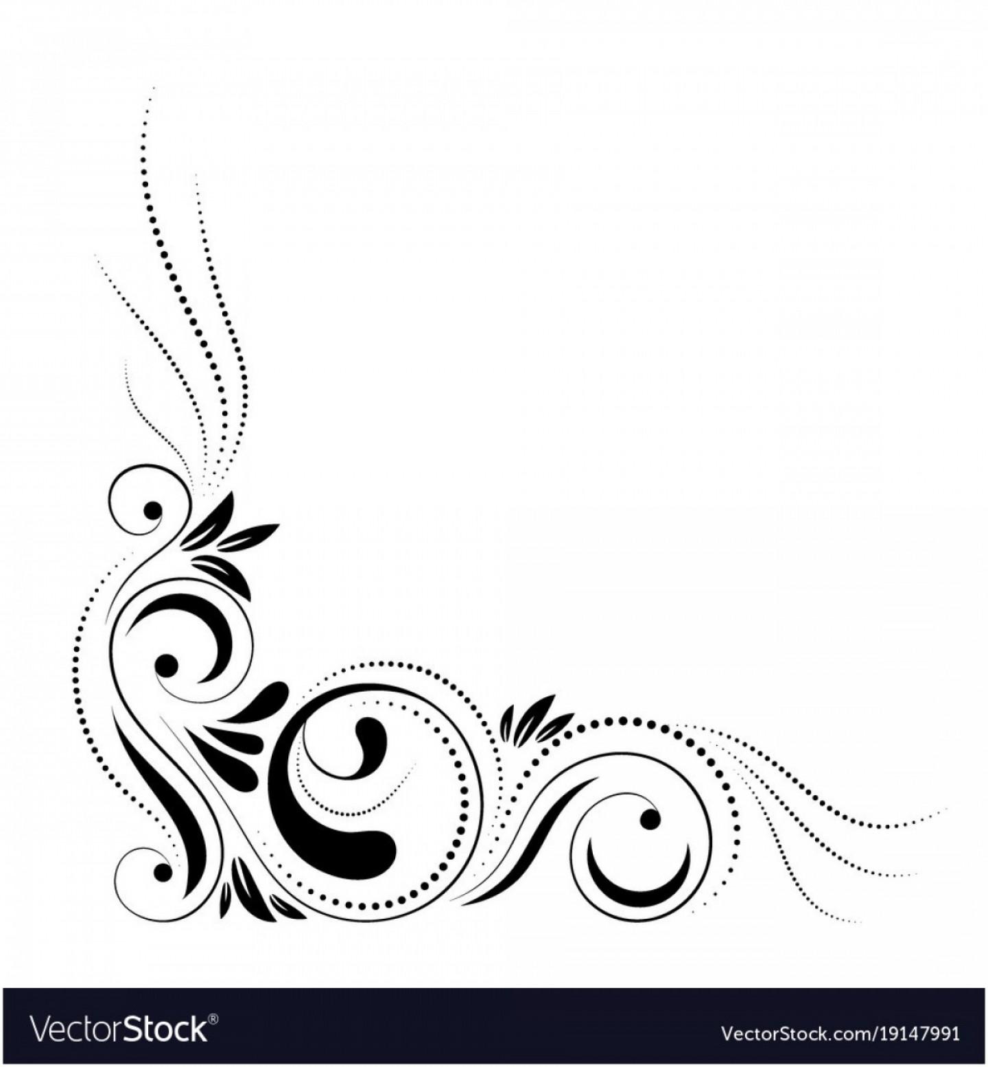 Swirl Graphic Hd Picture Art Design Clipart Red Border.