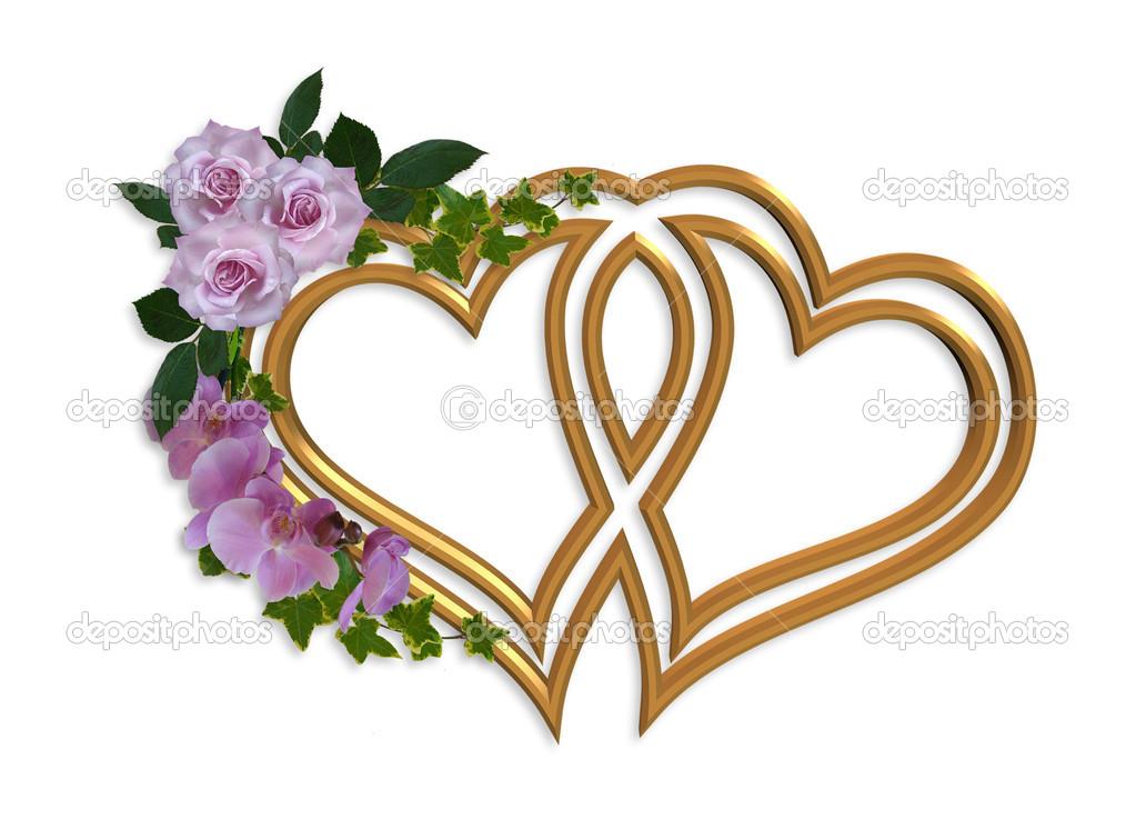 Free Wedding Invitation Clip Art Designs free image.