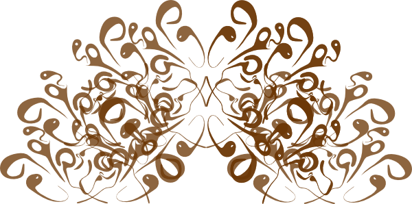 Crown Swirl Design PNG, SVG Clip art for Web.