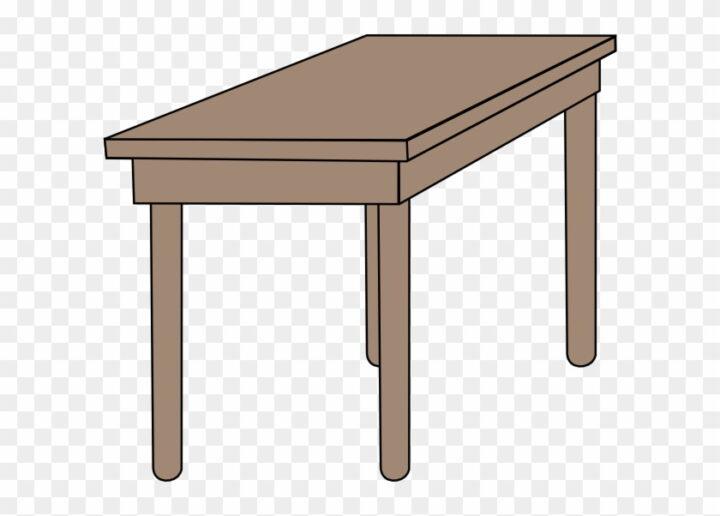 Student Table Clipart Desk Clip Art Image Provided.