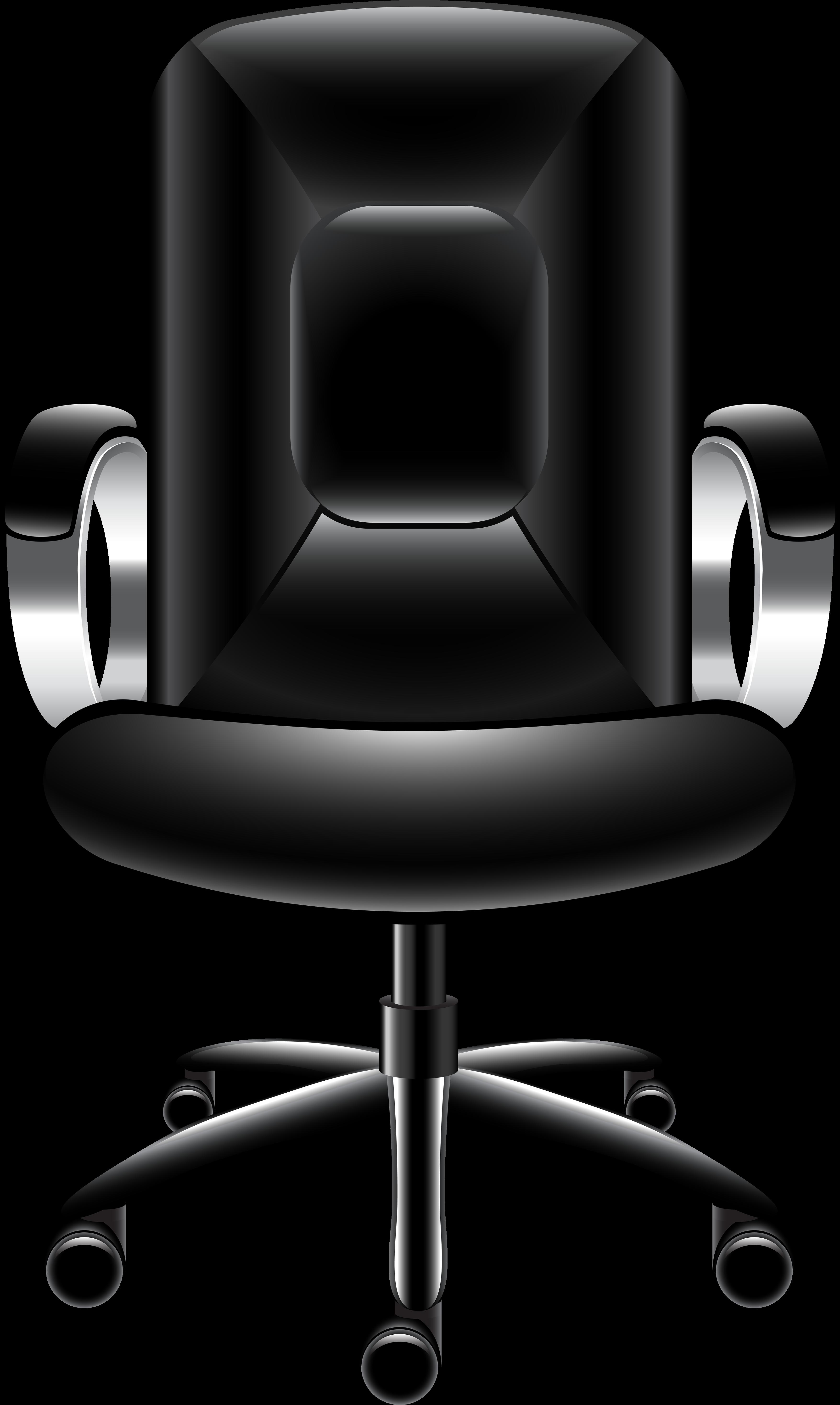Desk Chair Clip Art.