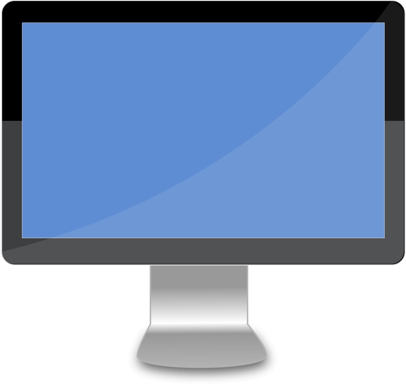 Free Clipart: Modern Desktop.