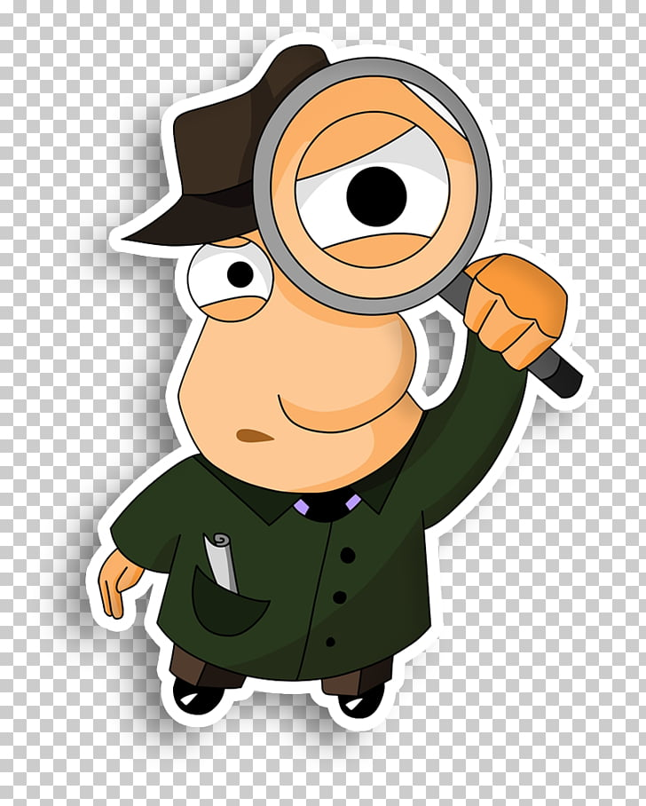 Detective Magnifying glass Private investigator , Magnifying.