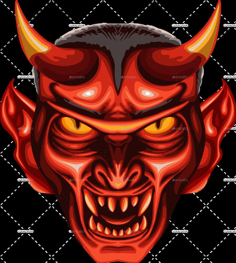 devil heads clipart Devil Satan clipart.