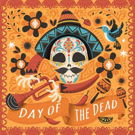 14,804 Day Of The Dead Cliparts, Stock Vector And Royalty Free Day.