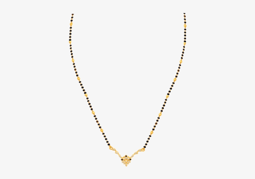 Diamond Gemstones Mangalsutra PNG Image.