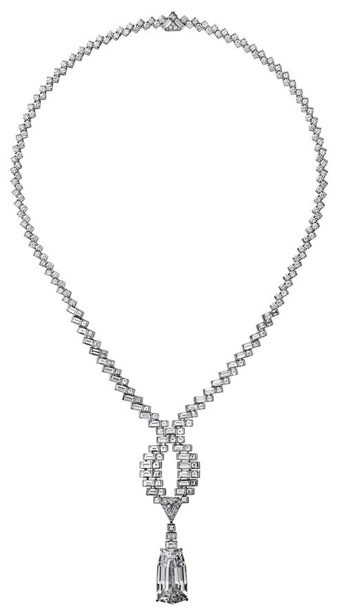 Diamond Necklace PNG Clipart.