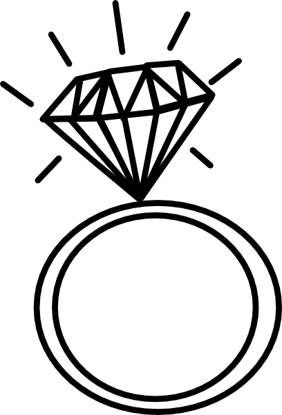 Wedding Ring Drawings.