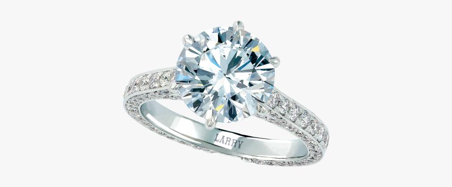 Round Brilliant Diamond Ring.