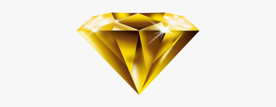 Paper Diamond Yellow Free Download Image.