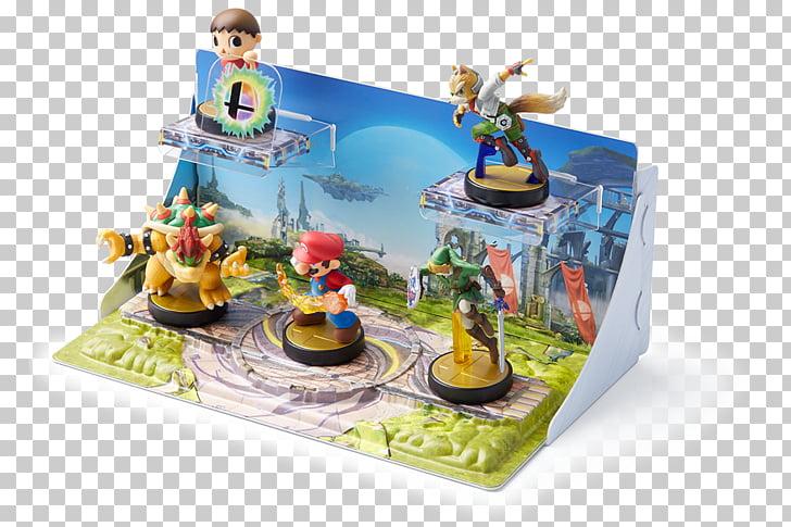 Super Smash Bros. for Nintendo 3DS and Wii U Splatoon Amiibo.
