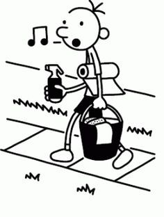 Image result for wimpy kid clipart.