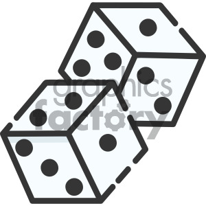 dice vector royalty free art . Royalty.