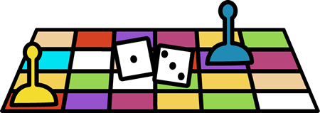 Board Game Pieces Clipart.